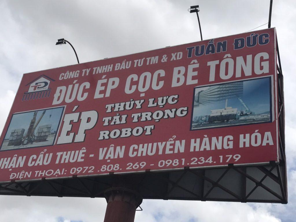 Ép cọc bê tông tại Thái Bình